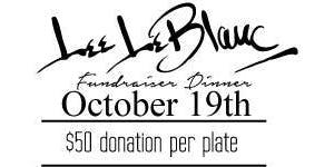 LeBlanc Fundraiser Dinner