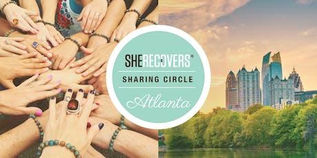 SHE RECOVERS Atlanta: October Sharing Circle tickets