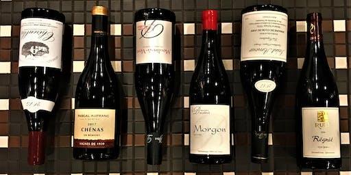 Beaujolais Wine Tasting