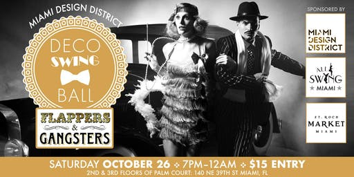 Miami Design District Deco Swing Ball ::Flappers & Gangsters Ed::