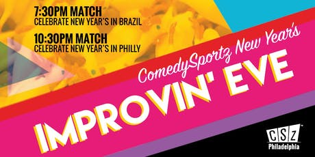 ComedySportz New Year's Improvin' Eve 2020 tickets