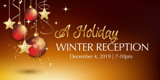 A Holiday Winter Reception