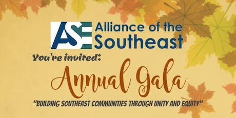 Alliance of the SouthEast (ASE) Annual Gala Nov. 7, 2019 tickets