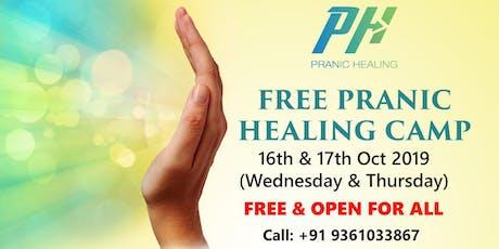 FREE Pranic Healing Camp tickets