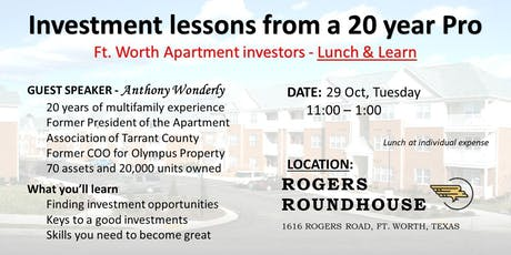 Apartment Investing - Become a better Millionaire tickets