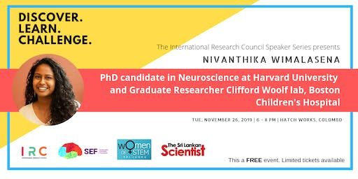 A Forum with Harvard Medical School PhD  candidate Nivanthika Wimalasena