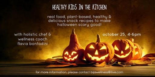 Healthy Kids in the Kitchen - Happy Halloween!