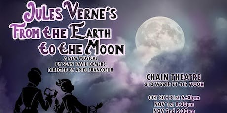 Jules Verne's From The Earth To the Moon - FringeBYOV tickets
