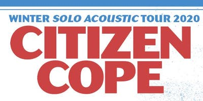 Citizen Cope at Victory North Savannah (January 25, 2020)