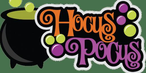 "Hālau Ho'ohui Aloha Fundraiser, ""Hocus Pocus Halloween Event"""