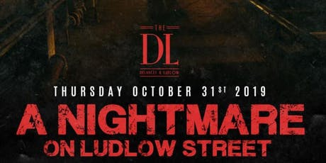 Halloween Night at the DL NYC tickets