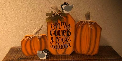 Oh My Gourd Painting Class