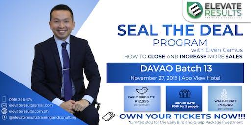 Seal the Deal Program - DAVAO Batch 13