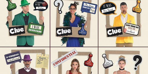 Clue Party fundraiser