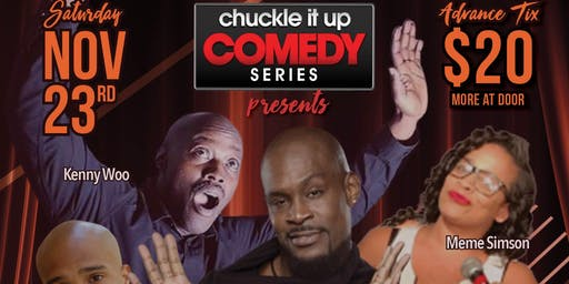 """Chuckle It Up Comedy Series """"Jive Turkey"""" Edition"""
