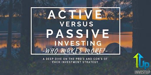 [WEBINAR] Active Vs Passive Real Estate Investing  - Who Makes More?