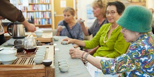 North Berkeley Senior Center Meditative Tea Tasting Class