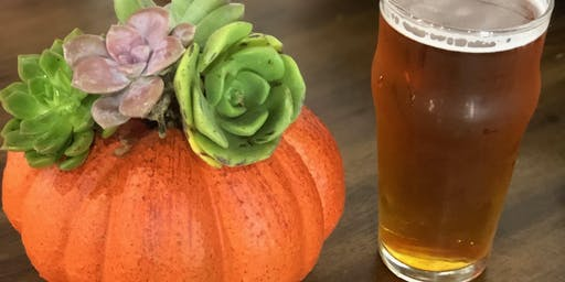 Pumpkin Centerpieces @ Charlie's Bar and Grill
