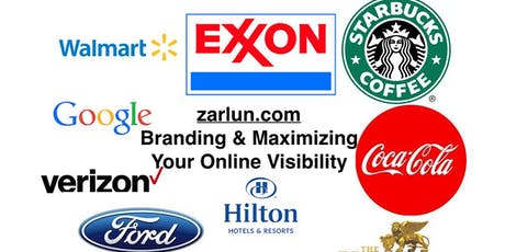 Branding and Maximizing Your Online Visibility LIVE in Dallas EB* tickets