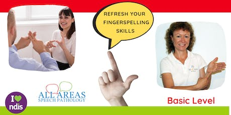Key Word Signing (1 Hour Refresher Class - Fingerspelling Basics) tickets