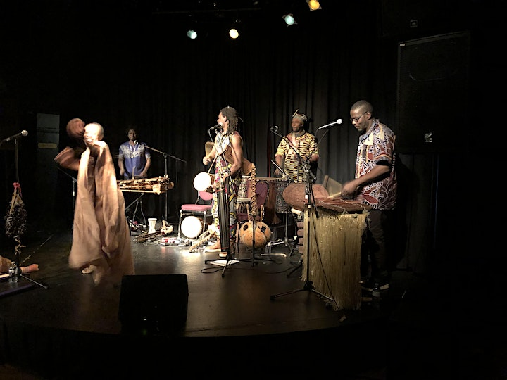 ISSAMBA-Your Ultimate Journey Through the Depths of African Rooted-Rhythms image