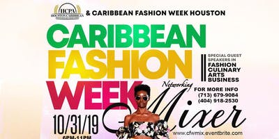 Caribbean Fashion Week Mixer