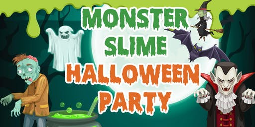 Monster Slime Halloween Party