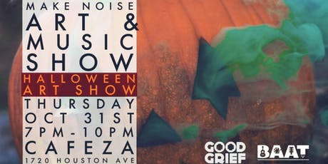 Cafeza Presents - Make Noise with DJ Good Grief tickets