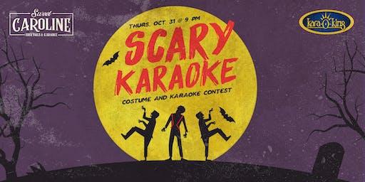2nd Annual Scary Karaoke - Halloween Karaoke Contest!
