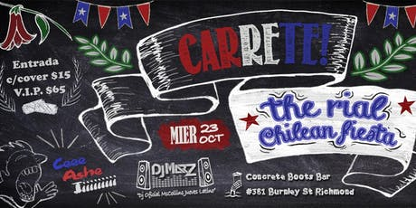 Carrete The Rial Chilean Fiesta tickets