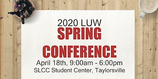 2020 Spring Conference - League of Utah Writers