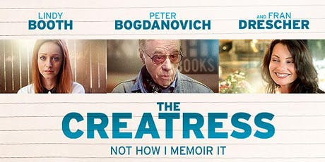 The Creatress Vue Romford on Thursday 17th October 2019 at 19:00.  tickets