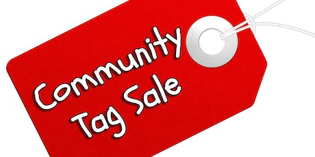 COMMUNITY TAG SALE tickets