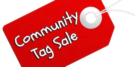 COMMUNITY TAG SALE