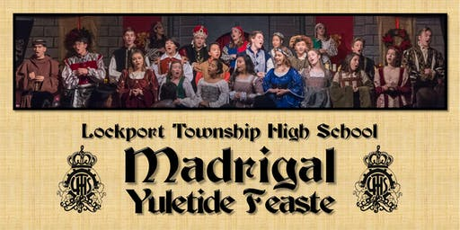 LTHS Madrigal Yuletide Feaste 2019: December, 8th at 2:30 pm