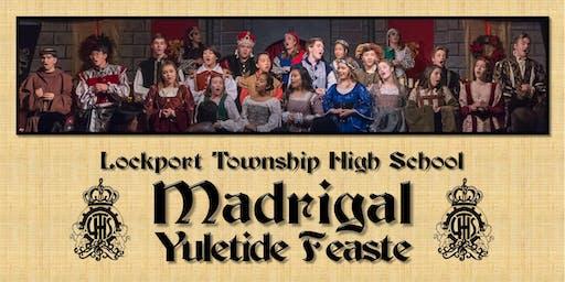 LTHS Madrigal Yuletide Feaste 2019: December, 8th at 2:30 pm