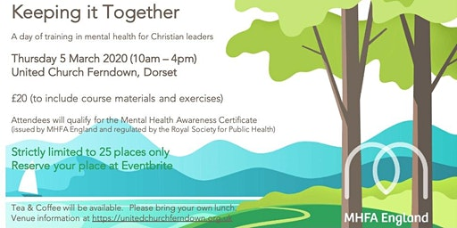 Keeping it Together (Mental Health First Aid for Church Leaders)