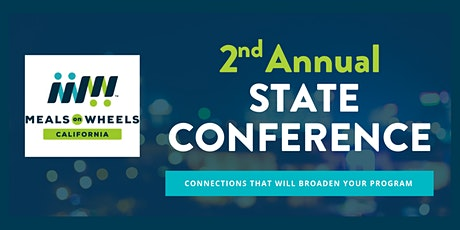 Meals on Wheels California Conference tickets