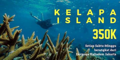 Open Trip Pulau Kelapa IDR 350K/orang tickets