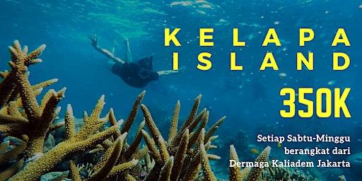 Open Trip Pulau Kelapa IDR 350K/orang