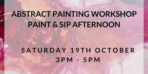 Abstract Painting - Paint and Sip
