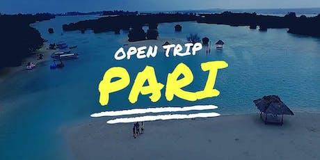 Open Trip Pulau Pari IDR 335K/person tickets