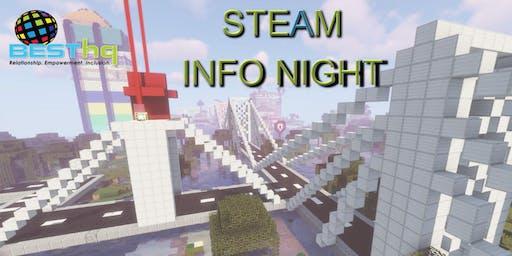 STEAM INFO Night (10/23) at BESThq