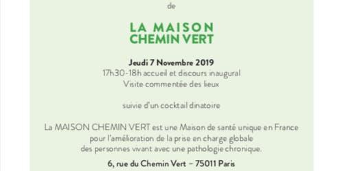 Ier anniversaire MAISON CHEMIN VERT