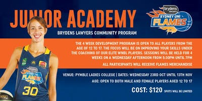 Brydens Sydney Uni Flames Academy