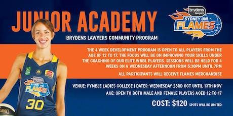 Brydens Sydney Uni Flames Academy tickets
