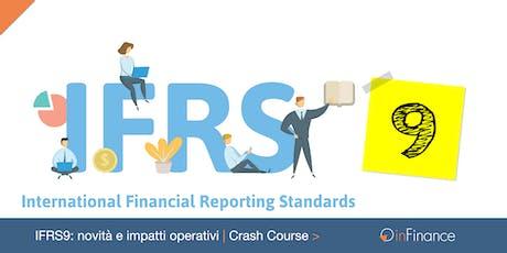 Crash Course | IFRS9: novità e impatti operativi biglietti