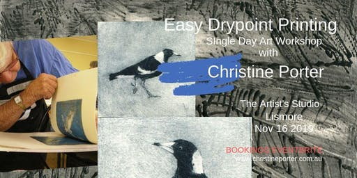 Easy Drypoint Printing - art workshop