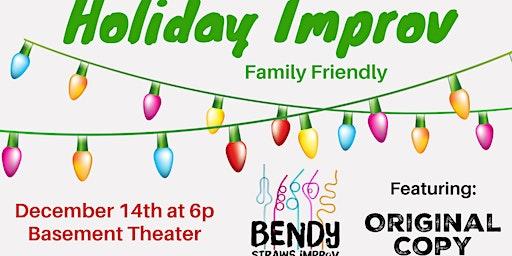 Holiday Improv - Family Friendly Show