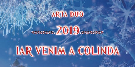 Primiti cu colinda la Peterborough - Arta Duo tickets